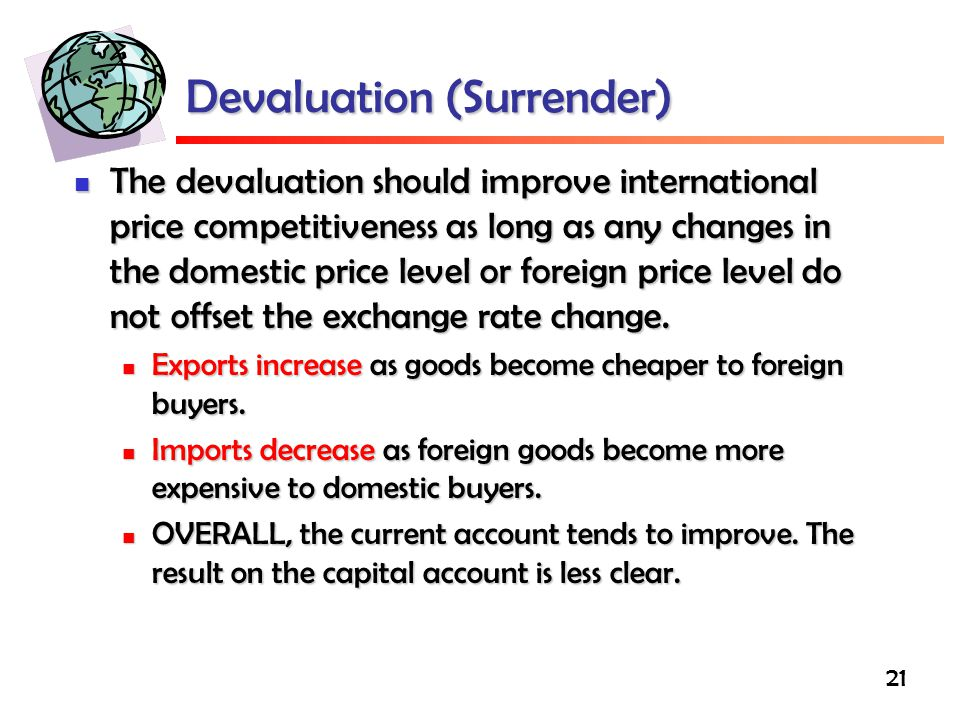 Devaluation (Surrender)
