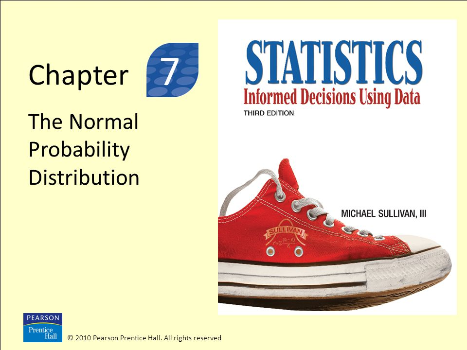 3 7 Chapter The Normal Probability Distribution