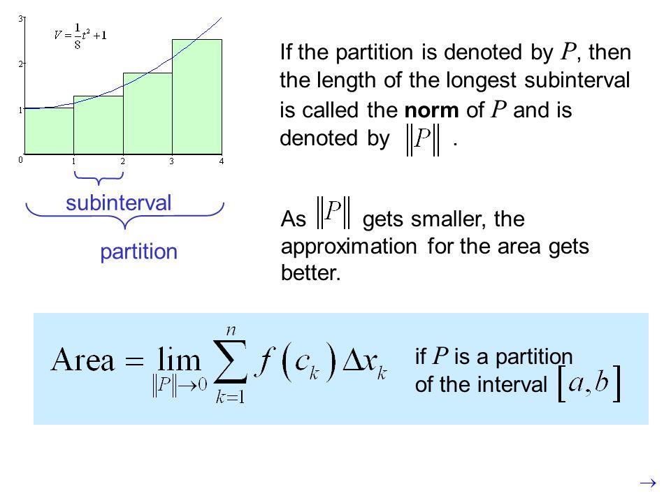 subinterval partition.