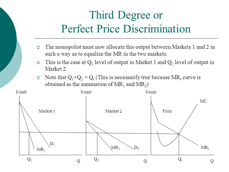 Third Degree or Perfect Price Discrimination