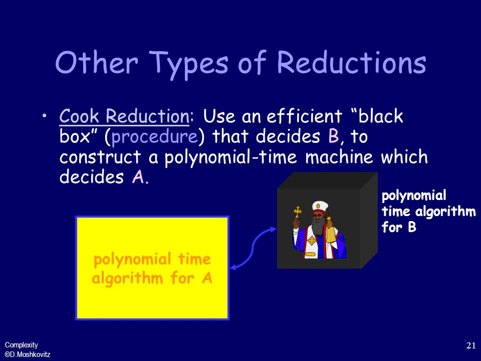 Other Types of Reductions