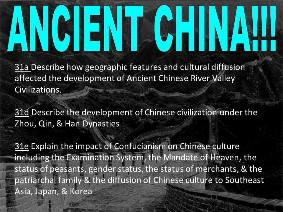 ANCIENT CHINA!!!