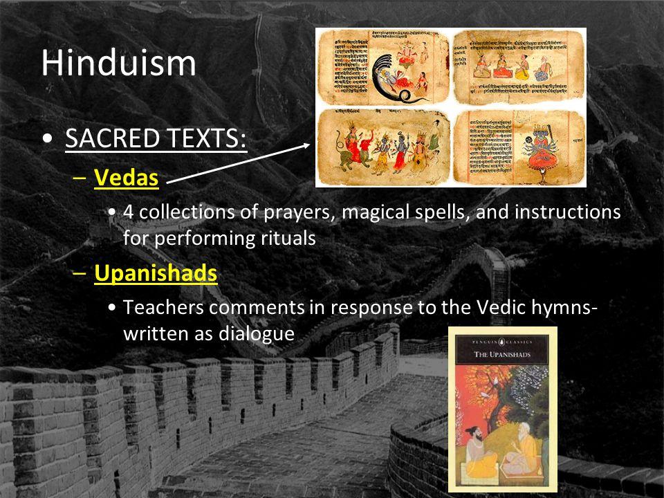 Hinduism SACRED TEXTS: Vedas Upanishads