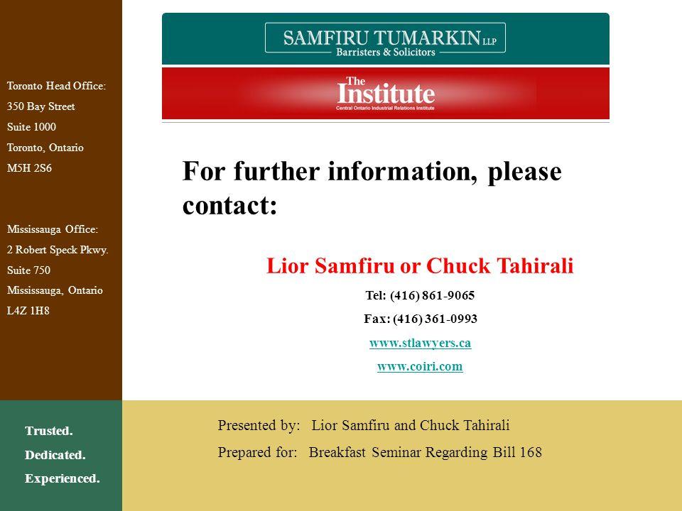 Lior Samfiru or Chuck Tahirali