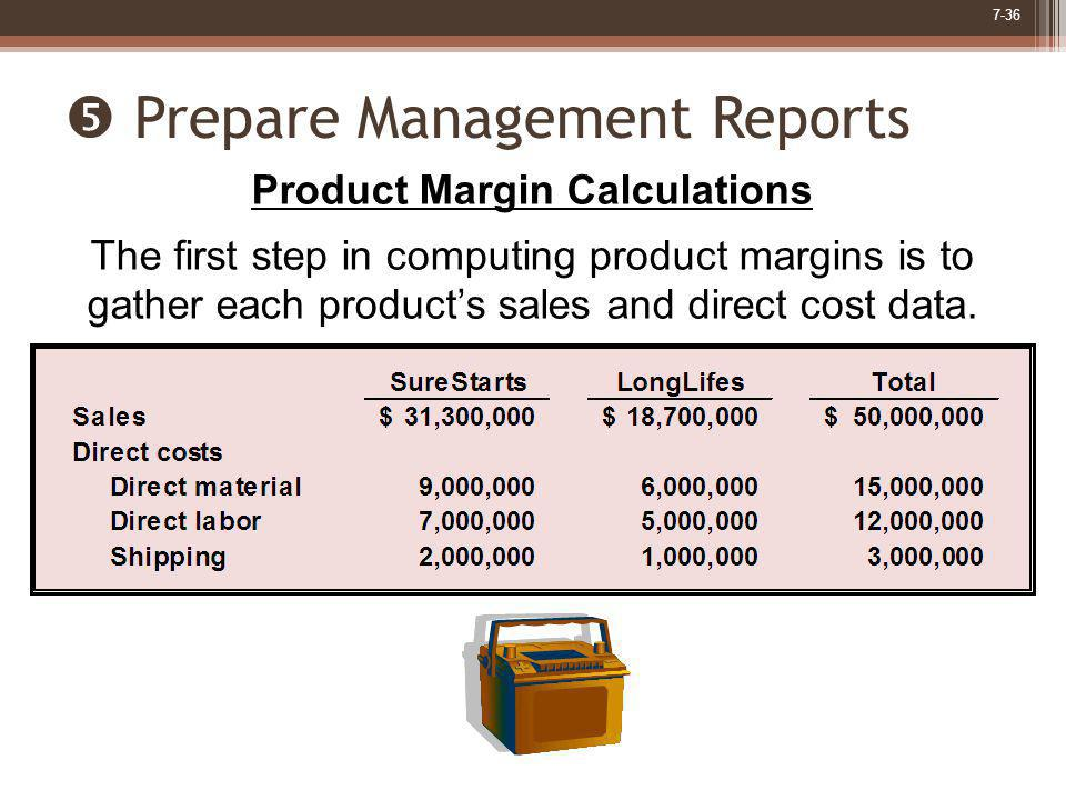  Prepare Management Reports