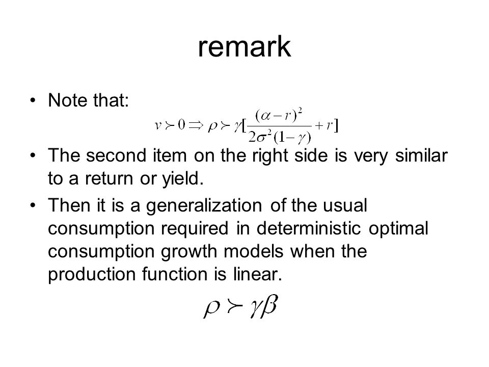 remark Note that: The second item on the right side is very similar to a return or yield.