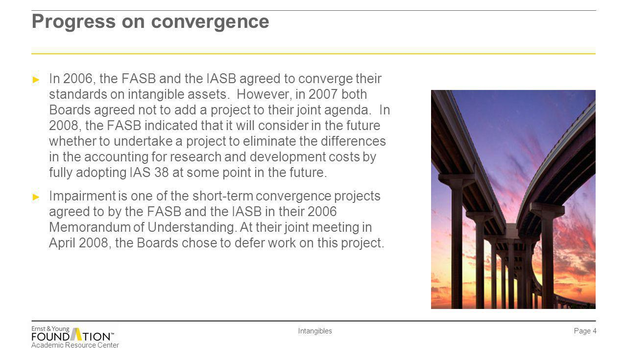 Progress on convergence