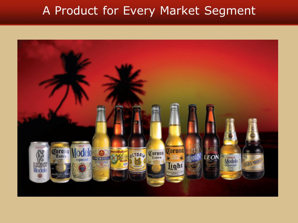 A Product for Every Market Segment