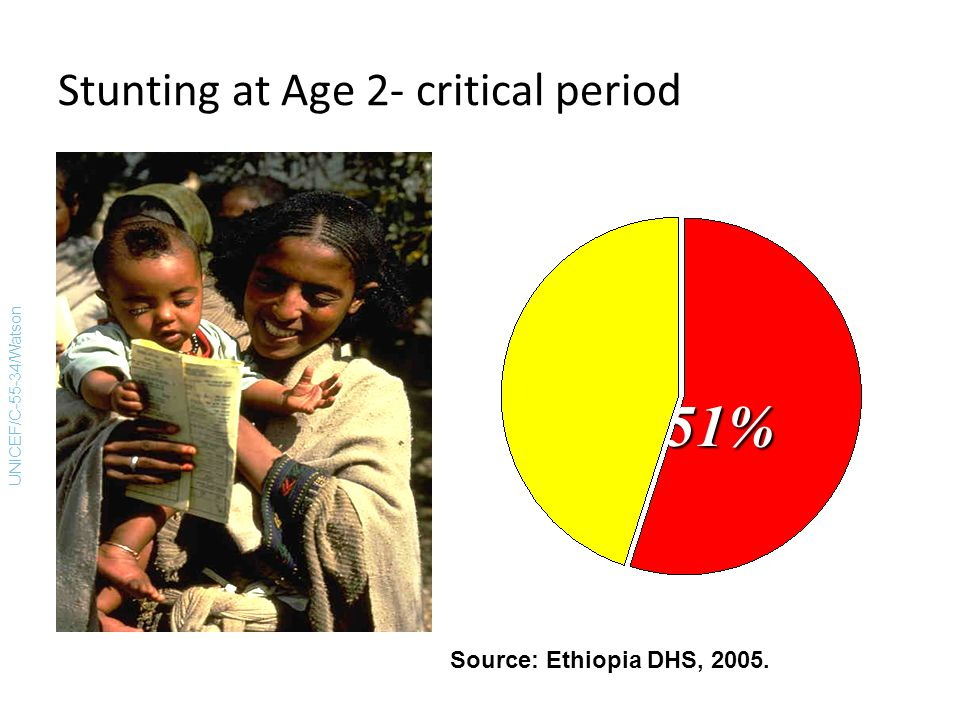 Stunting at Age 2- critical period