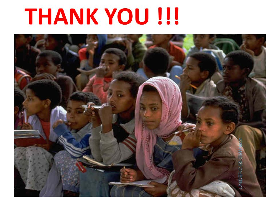 THANK YOU !!! UNICEF/C-55-38/Watson
