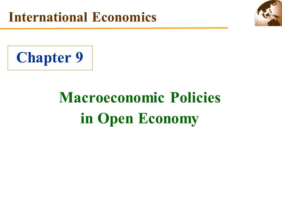 Macroeconomic Policies in Open Economy