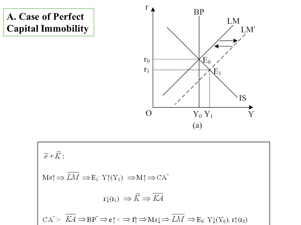 A. Case of Perfect Capital Immobility