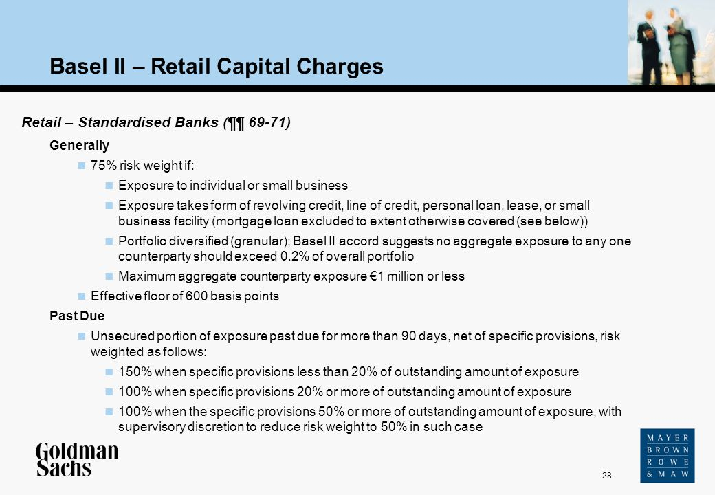 Basel II – Retail Capital Charges