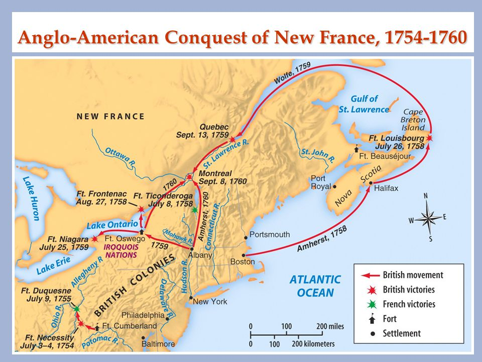 Anglo-American Conquest of New France, 1754-1760