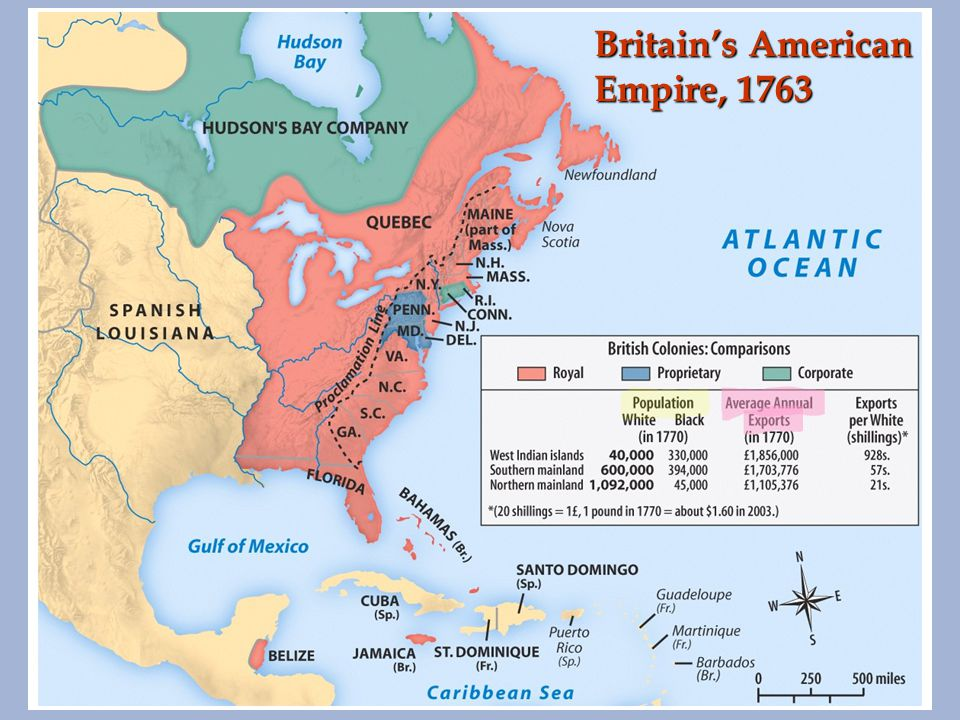 Britain s American Empire in 1763