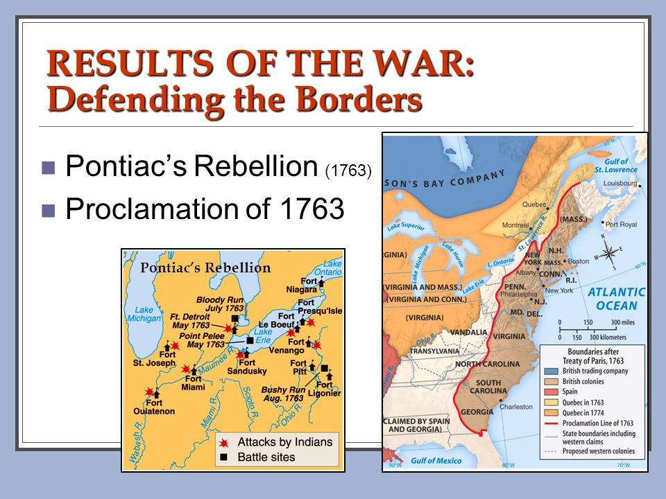 RESULTS OF THE WAR: Defending the Borders