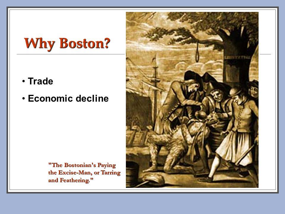 Why Boston Trade Economic decline
