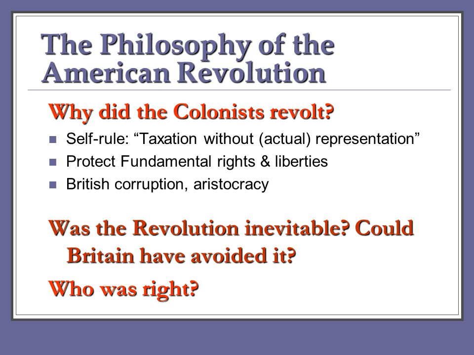 revolution as a philosophy The enlightenment was an intellectual and philosophical movement that dominated the world of ideas in europe during the 18th century, the century of philosophy.