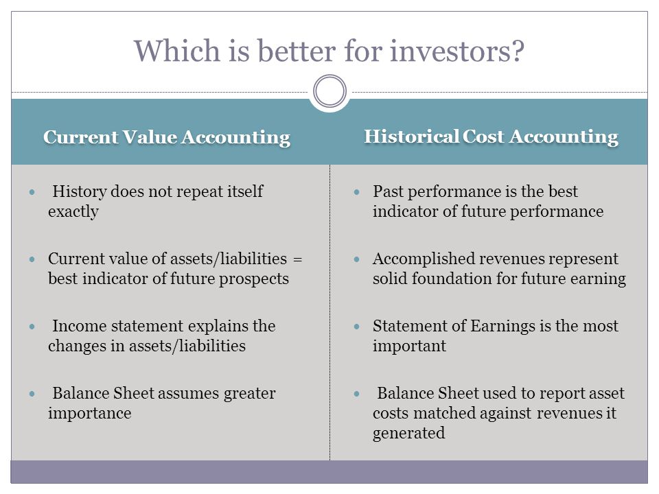 Which is better for investors