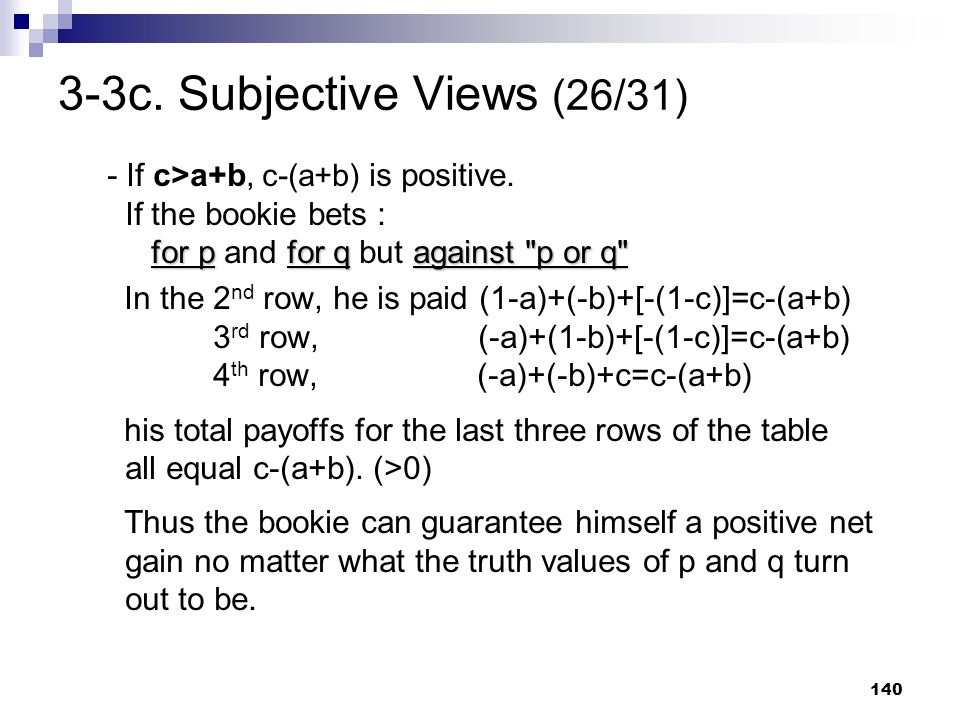 3-3c. Subjective Views (26/31)