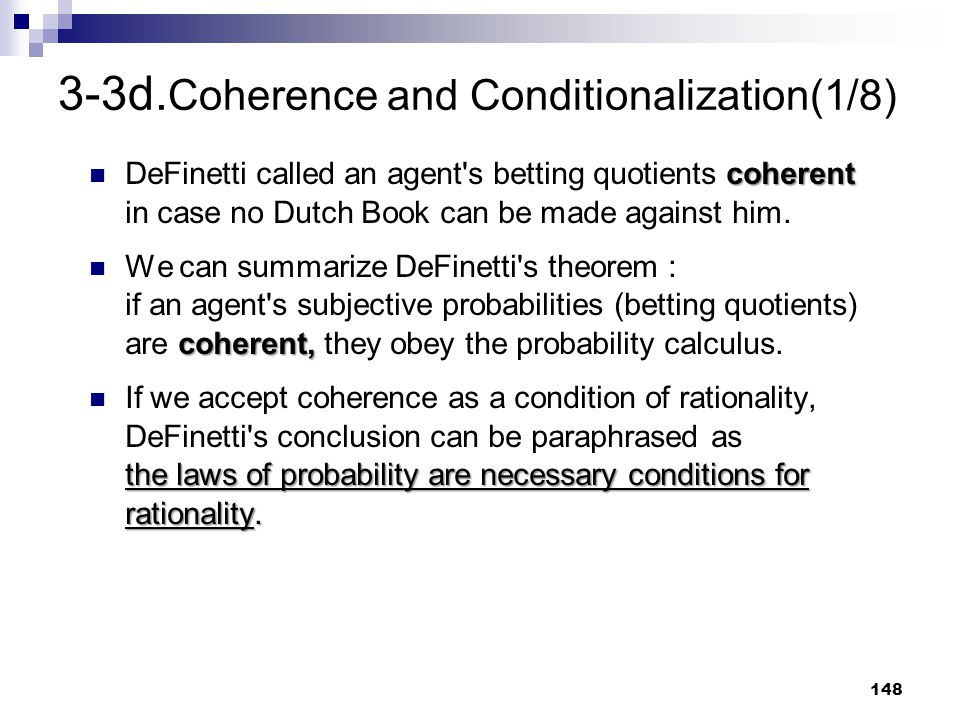 3-3d.Coherence and Conditionalization(1/8)