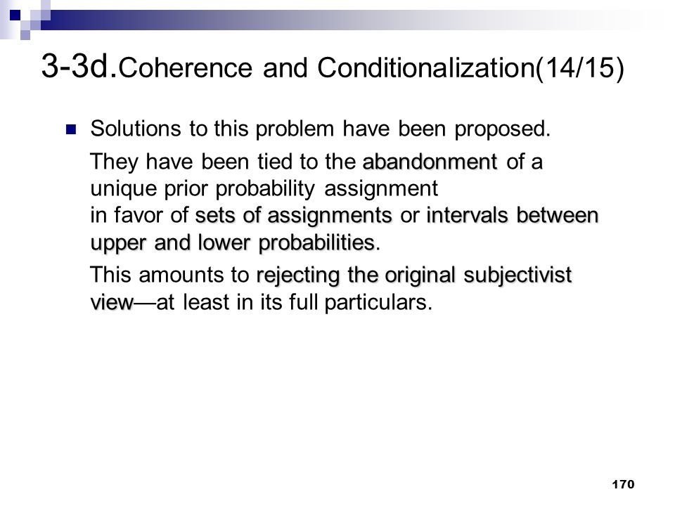 3-3d.Coherence and Conditionalization(14/15)