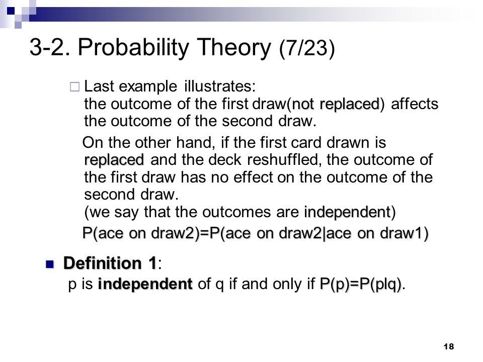3-2. Probability Theory (7/23)