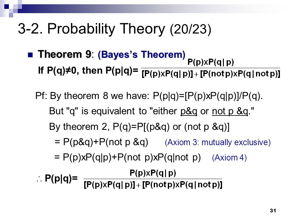 3-2. Probability Theory (20/23)