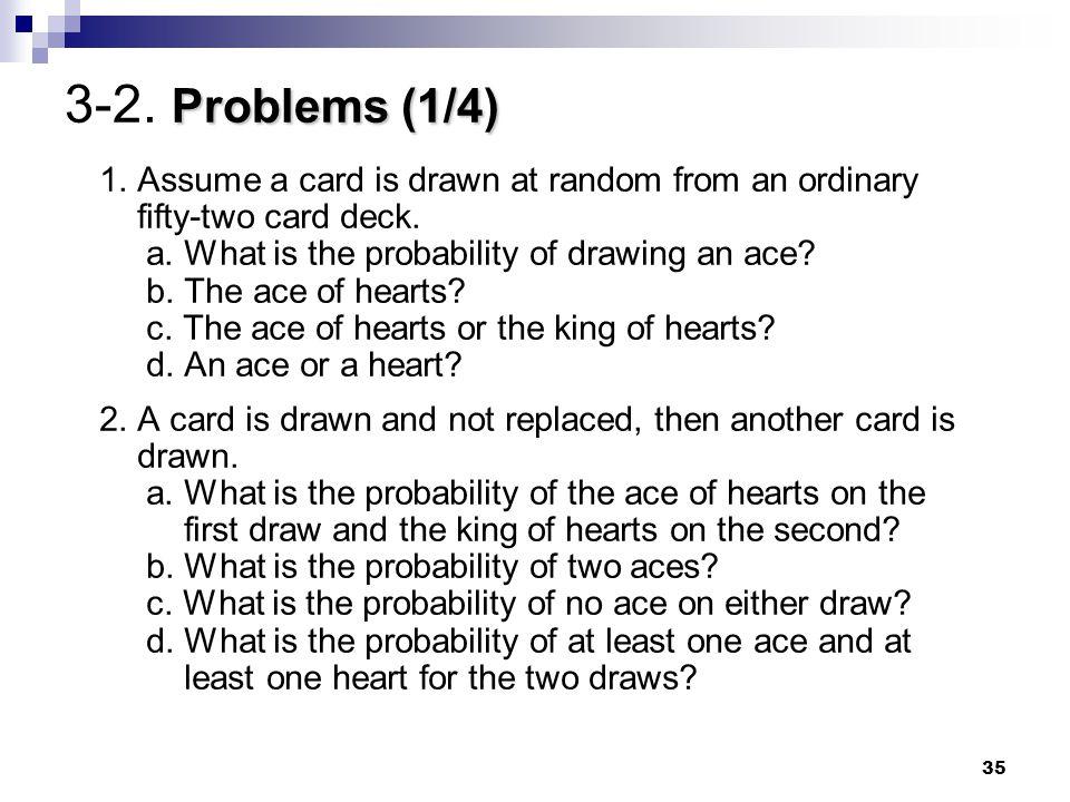 3-2. Problems (1/4)