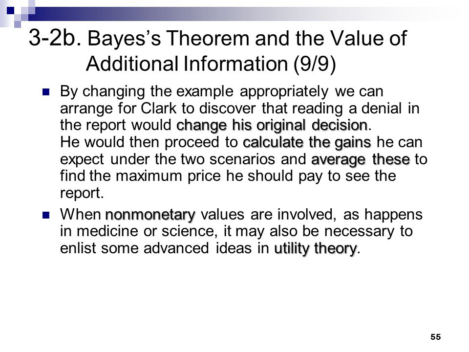 3-2b. Bayes's Theorem and the Value of Additional Information (9/9)
