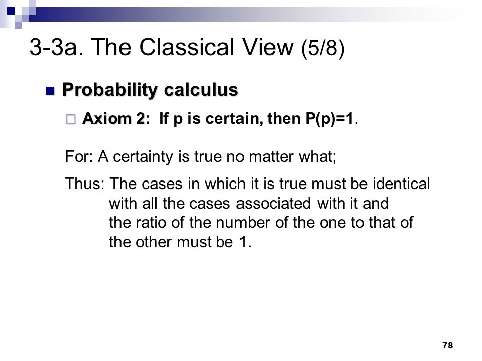 3-3a. The Classical View (5/8)