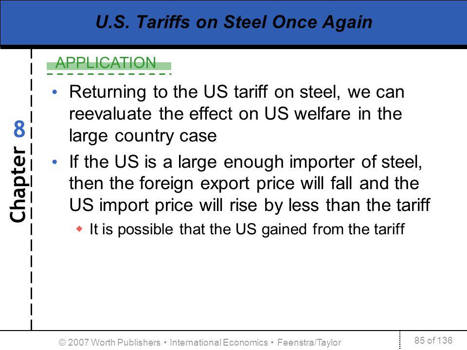 U.S. Tariffs on Steel Once Again