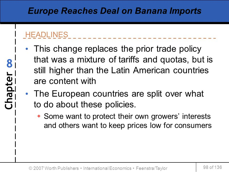 Europe Reaches Deal on Banana Imports