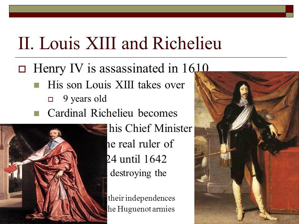 II. Louis XIII and Richelieu