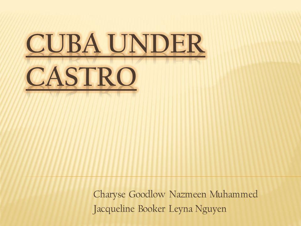 Charyse Goodlow Nazmeen Muhammed Jacqueline Booker Leyna Nguyen