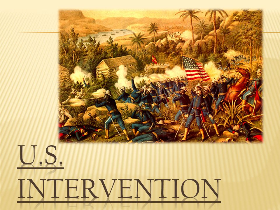 U.S. Intervention