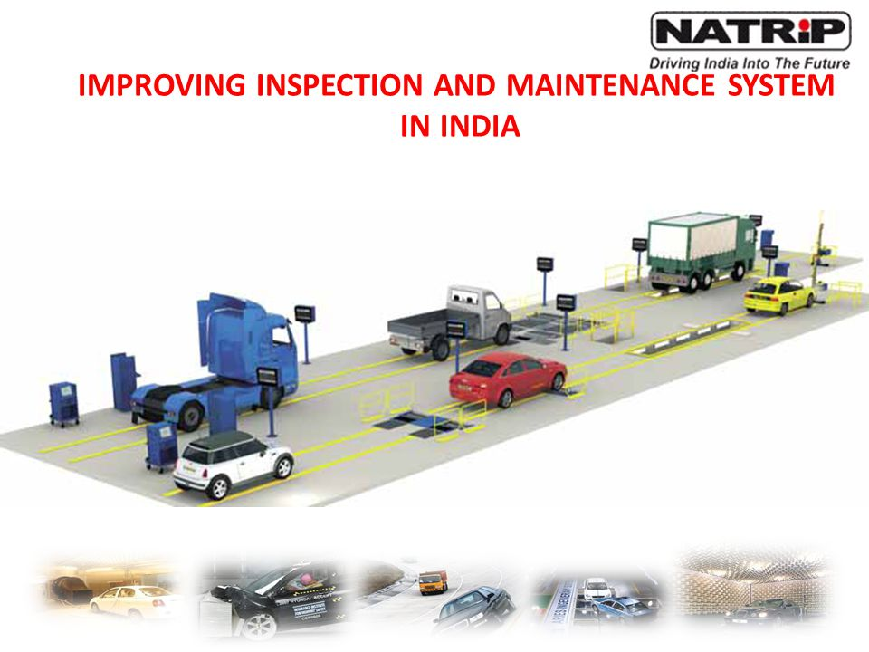 IMPROVING INSPECTION AND MAINTENANCE SYSTEM
