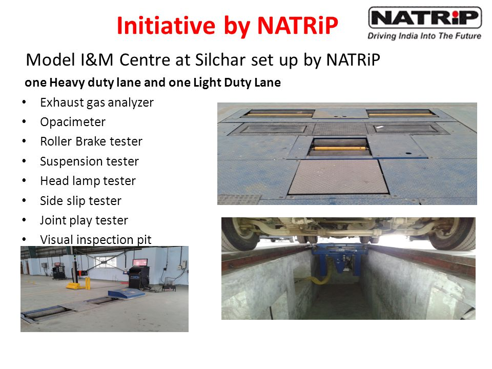 Initiative by NATRiP Model I&M Centre at Silchar set up by NATRiP
