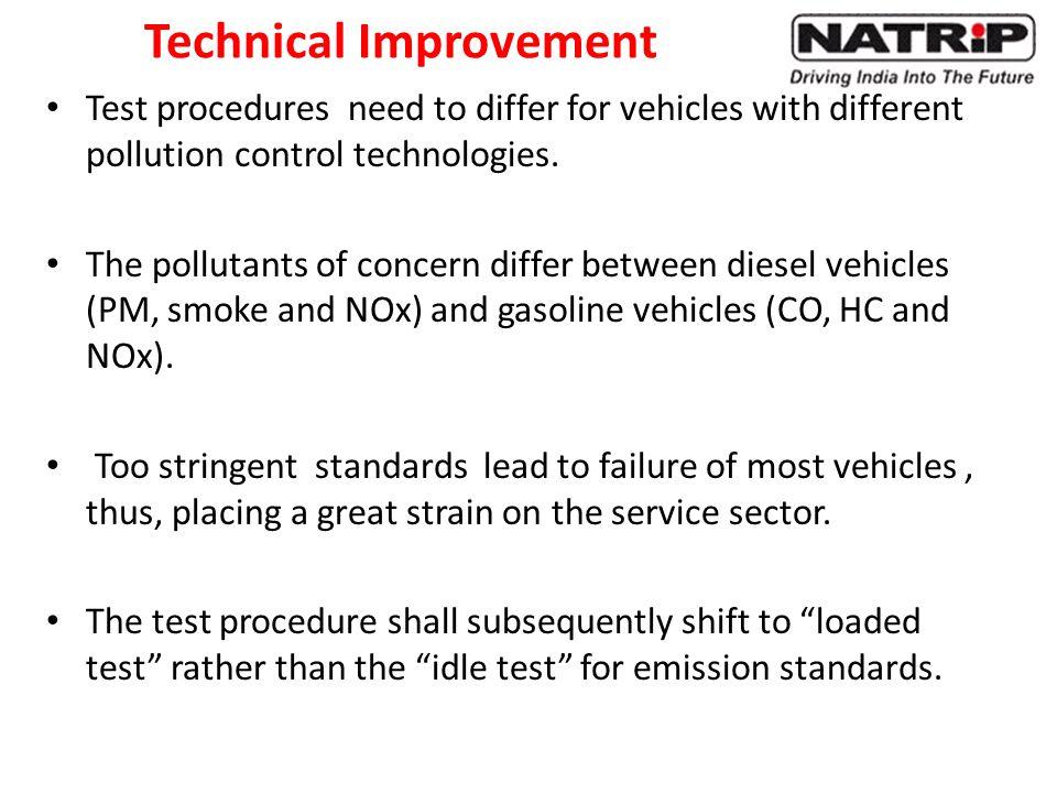 Technical Improvement