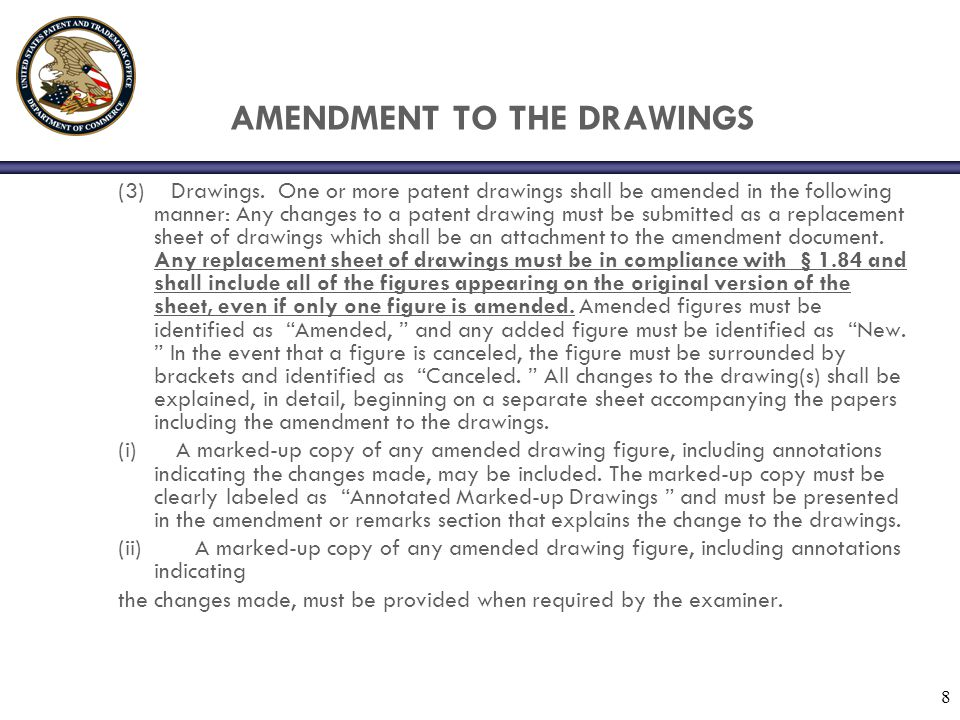 AMENDMENT TO THE DRAWINGS