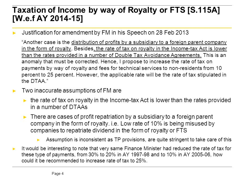 * This is without considering impact of MFN Clause