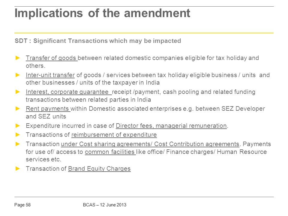 Impact of amendment in – Sec 80IA(10)