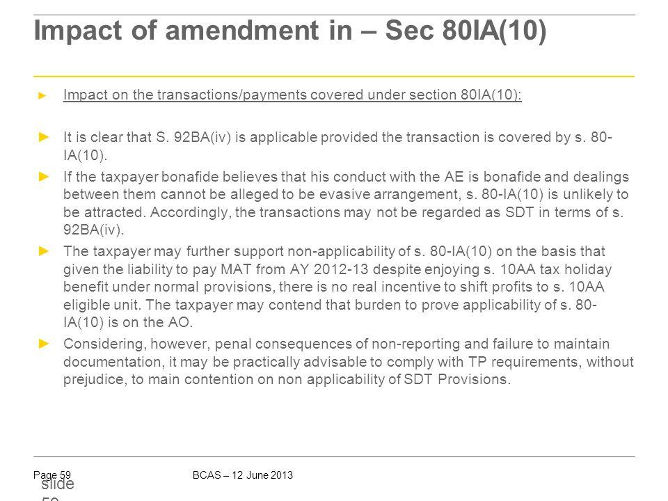 Corresponding amendment