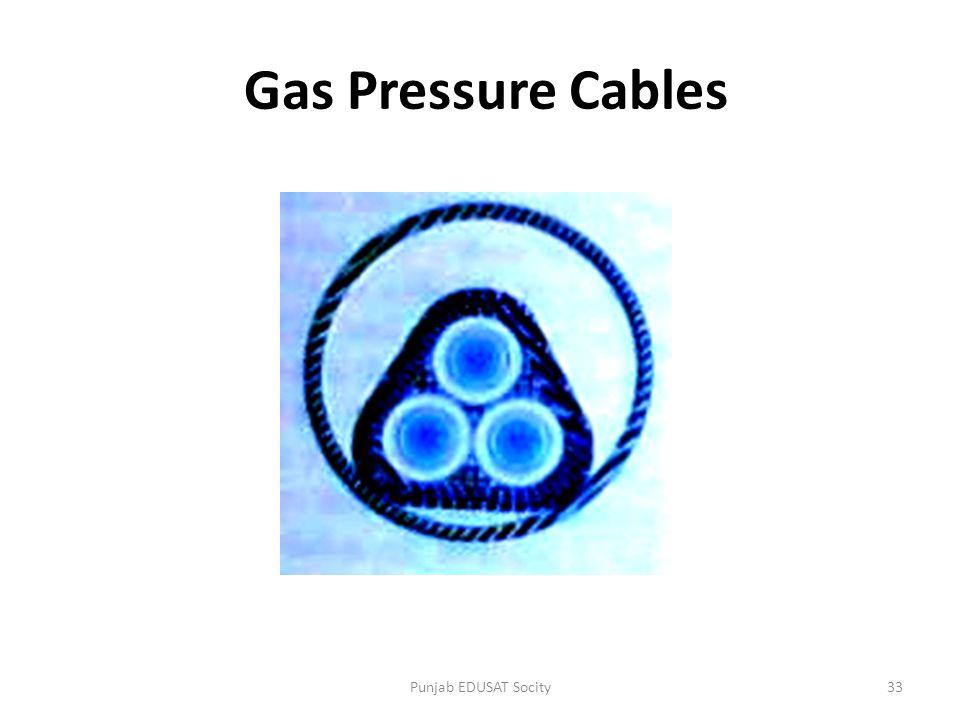 Gas Pressure Cables Punjab EDUSAT Socity