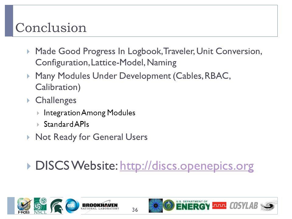 DISCS Website: http://discs.openepics.org