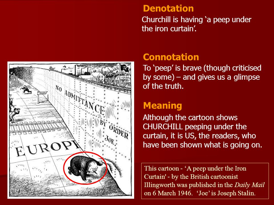 5 Denotation Connotation Meaning