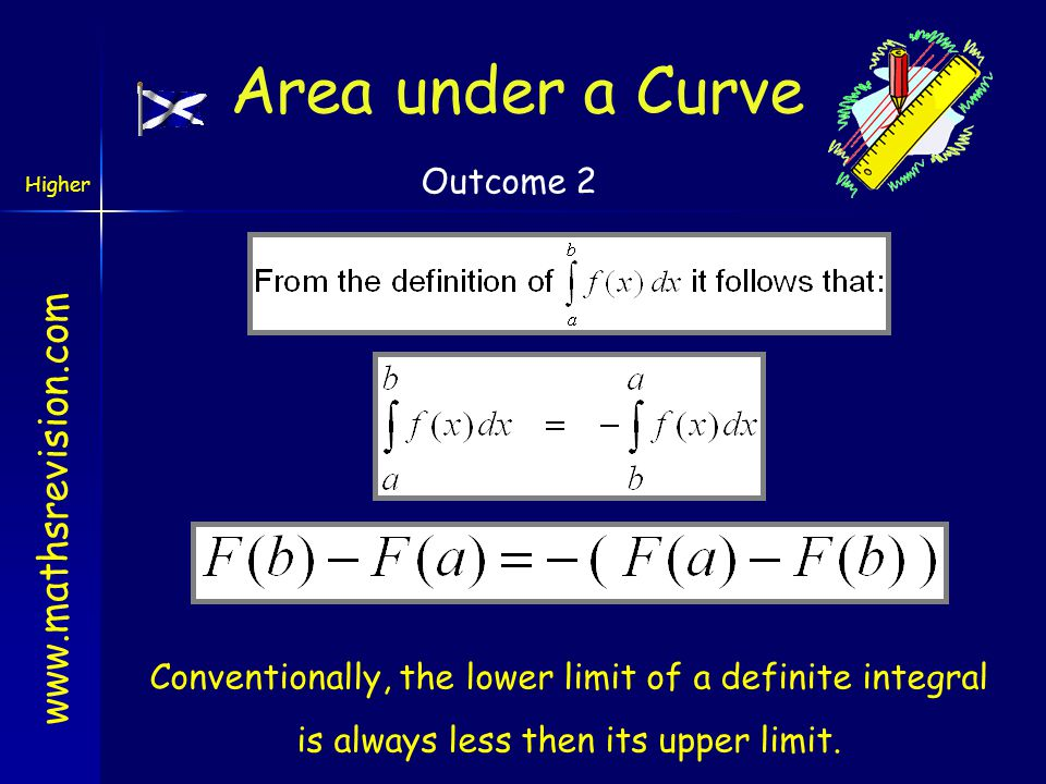 Area under a Curve Outcome 2