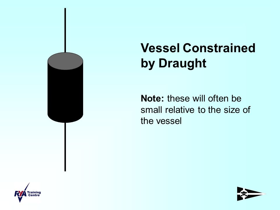 Vessel Constrained by Draught