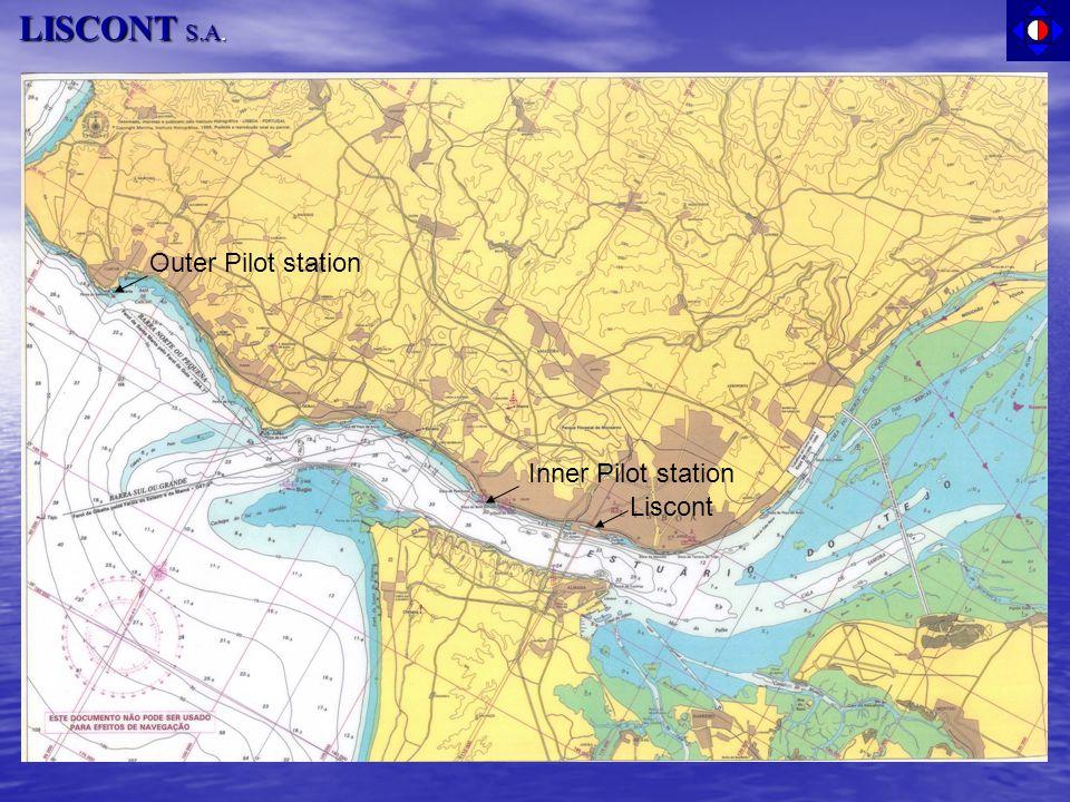 LISCONT S.A. Outer Pilot station Inner Pilot station Liscont