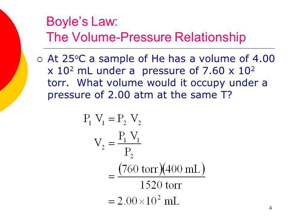 Boyle's Law: The Volume-Pressure Relationship